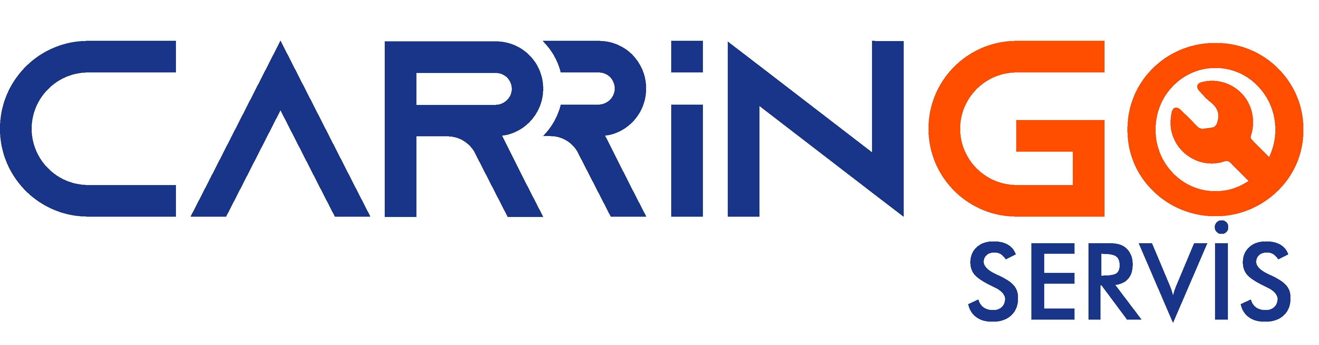carringo logo beyaz
