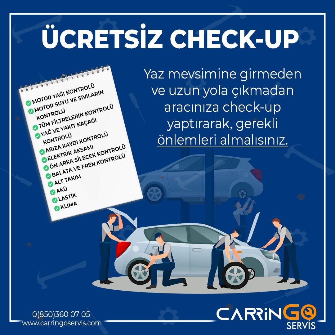 Ücretsiz Check-Up Kampanyası