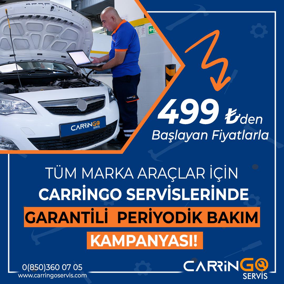 carringo servis bakım kampanyası